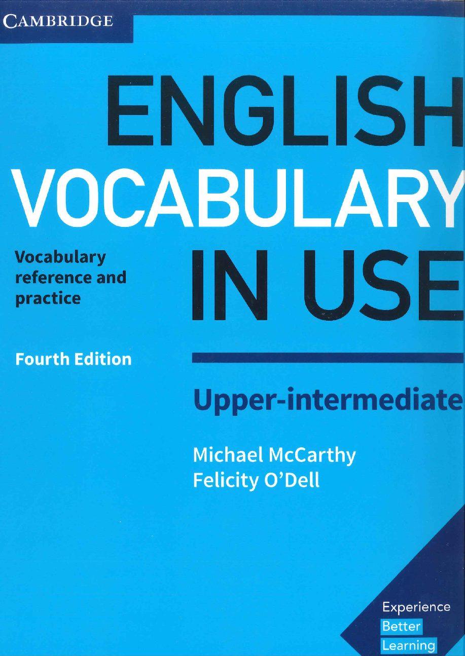 Use upper intermediate pdf in vocabulary