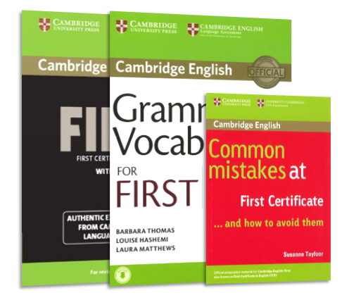 cambridge english first fce self study package swiss exams online shop. Black Bedroom Furniture Sets. Home Design Ideas