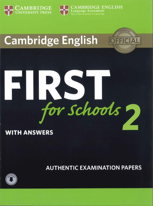 Cambridge English: Proficiency (CPE) 2 Authentic Examination