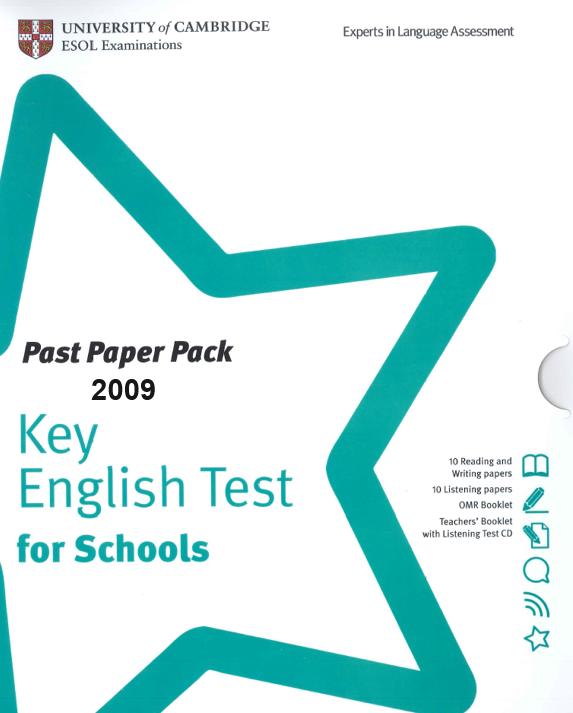 Cambridge English: Preliminary (PET) Handbook for Teachers - Swiss