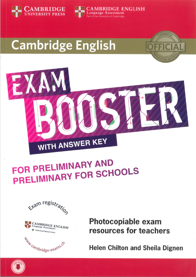 Cambridge English Exam Booster for Preliminary (PET) and Preliminary for  Schools (PET S) with Answer Key with Audio