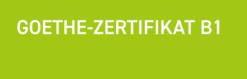 Goethe-Zertifikat B1
