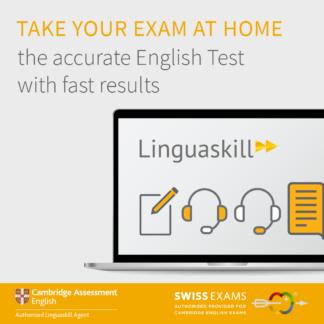 Linguaskill mit remote proctoring mit Swiss Exams, dem offiziellen Linguaskill Agent in der Schweiz