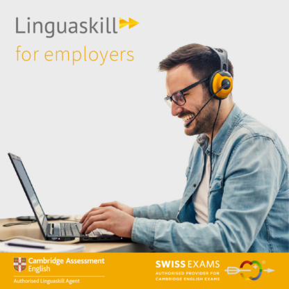 Linguaskill with remote proctoring for employers with Swiss Exams - official linguaskill agent in Switzerland